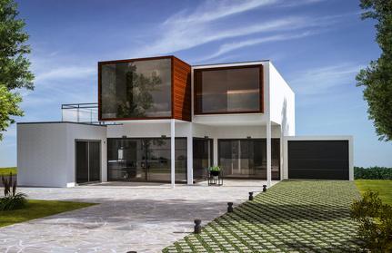 structure maison architecte particulier